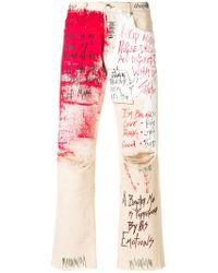 Faith Connexion - Printed Jeans - Lyst