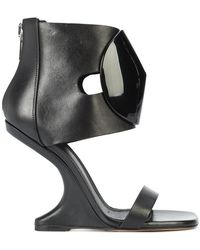 Rick Owens - Cantilevered Sandals - Lyst