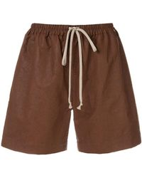 Rick Owens - Drawstring Boxer Shorts - Lyst