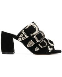 Marc Ellis - Triple Buckle Mules - Lyst