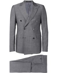 Tagliatore - Classic Double-breasted Suit - Lyst