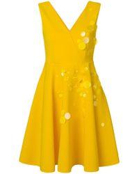 MSGM - Pailette Sleeveless Dress - Lyst