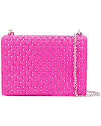 Rodo - Crystal Embellished Mini Bag - Lyst