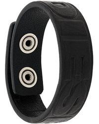 DIESEL - Embossed Bracelet - Lyst