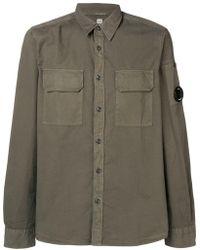 C P Company - Pocket Detail Shirt - Lyst