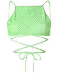 ACK | Embroidered Bikini | Lyst
