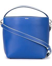 7b48ed7902 PERRIN Paris - Zipped Shoulder Bag - Lyst
