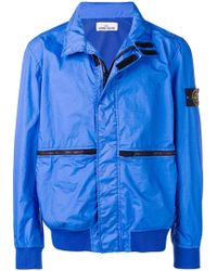 Stone Island - Lightweight Zipped Jacket - Lyst