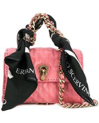 Ermanno Scervino - Mini Scarf Embellished Bag - Lyst