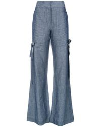 Giuliana Romanno - Wide Leg Trousers - Lyst