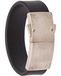 Parts Of 4 - Leather Band Bracelet - Lyst