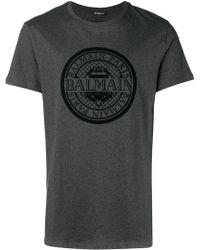 Balmain - Printed T-shirt - Lyst