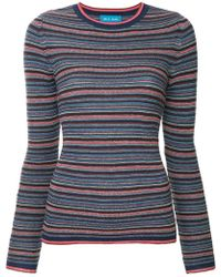 M.i.h Jeans - Striped Knit Top - Lyst
