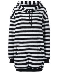 A.F.Vandevorst - Oversized Striped Hoodie - Lyst