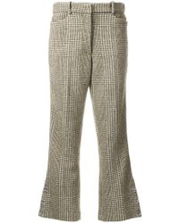 Simone Rocha - Houndstooth Flared Trousers - Lyst