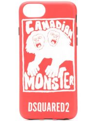 DSquared² - Coque d'iPhone 8 Canadian Monster - Lyst
