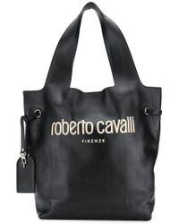 Roberto Cavalli - Logo Hobo Bag - Lyst