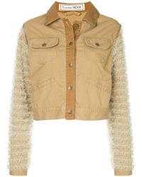 Tu Es Mon Tresor - Tulle-embellished Jacket - Lyst