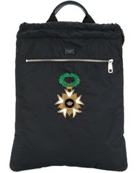 Dolce & Gabbana - Patch Backpack - Lyst