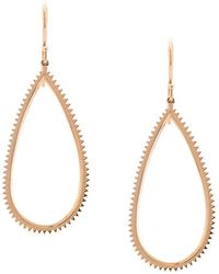 Eva Fehren - Jagged Drop Earrings - Lyst