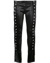 Paula Knorr - Jeans Con Occhielli Decorativi - Lyst