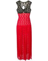 Christopher Kane - Stretch Lace Crotch Dress - Lyst