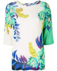 Etro - Floral Print Blouse - Lyst