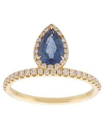Anita Ko - Tear Drop Ring - Lyst