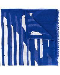 Y's Yohji Yamamoto - Striped Scarf - Lyst
