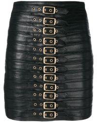Manokhi - Buckled Mini Skirt - Lyst
