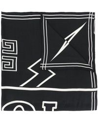 Givenchy - Graphic Print Scarf - Lyst