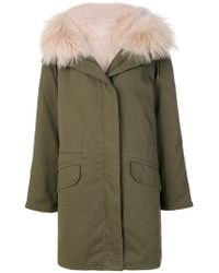 Army by Yves Salomon - Fur-trimmed Parka Coat - Lyst