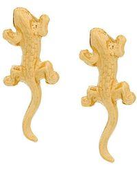 Wouters & Hendrix - My Favourite Salamander Stud Earrings - Lyst