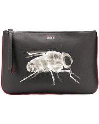 Bally - Bee X-ray Clutch Bag - Lyst
