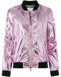 Rossignol - W Laminated Urban Bomber Jacket - Lyst