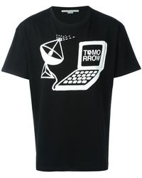 Stella McCartney - Tomorrow Print T-shirt - Lyst