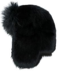 91e376494c7 Lyst - Saint Laurent Casquette Sailor Hat in Black for Men