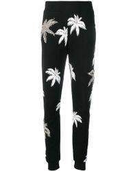 Philipp Plein - Palm Tree Print Track Pants - Lyst