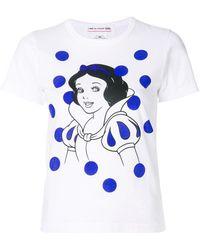 Comme des Garçons - Snow White T-shirt - Lyst