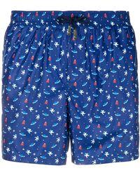 Fefe - Spazio Swim Shorts - Lyst