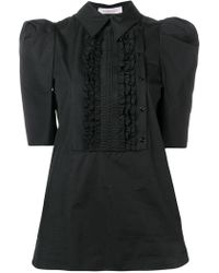 See By Chloé - Pleated Bib Blouse - Lyst