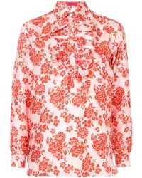 The Gigi - Printed Shirt - Lyst