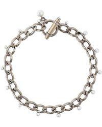 Givenchy - Collana 'Obsedia' con perle sintetiche - Lyst
