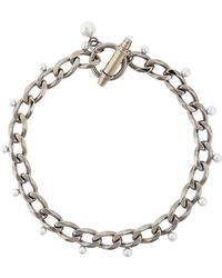 Givenchy - Obsedia Faux Pearl Necklace - Lyst