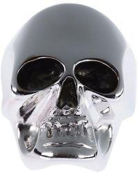 Gavello - Gold Skull Ring - Lyst
