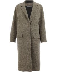 32 Paradis Sprung Freres - Detroit Single Breasted Coat - Lyst