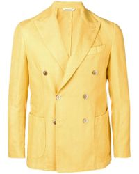 Al Duca d'Aosta - Double Breasted Blazer - Lyst