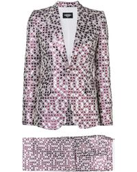 DSquared² Patterned Two-piece Suit