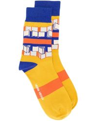 Henrik Vibskov - Great Authors Socks - Lyst