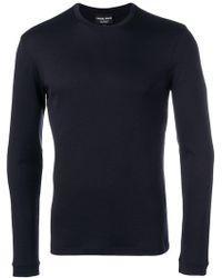 Giorgio Armani - Slim-fit Cashmere Sweatshirt - Lyst
